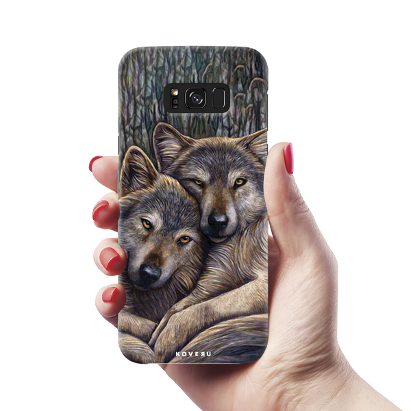 Wolf Cover Cases For Samsung Galaxy S8