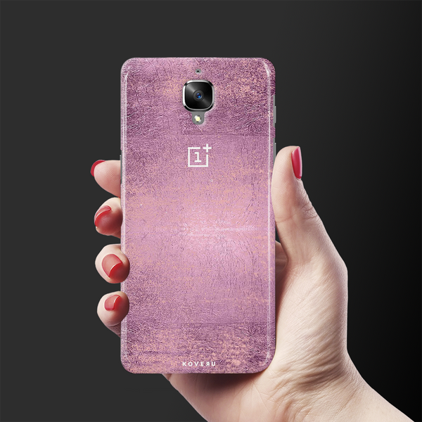 Mauve Marble Texture Cover Case For OnePlus 3/3T