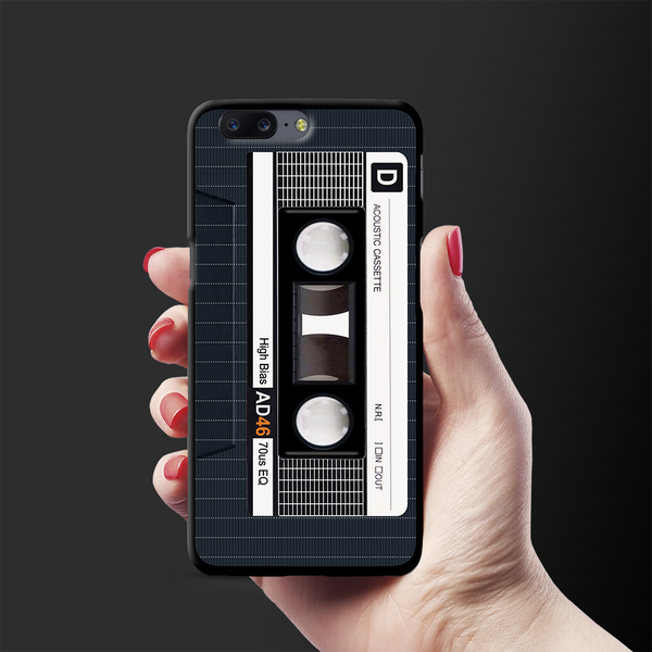 Acoustic Cassette Cover Case For OnePlus 5