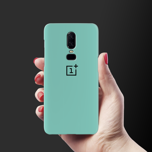 Turquoise Cover Case For OnePlus 6