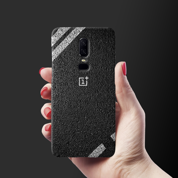Strips on Road Case Cover for OnePlus 6