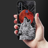 Wolf howling Cover Case for Vivo Z1 Pro