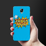 Super Mom Pop Art Cover Case For OnePlus 3/3T