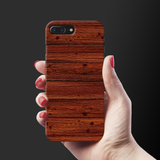 Wooden Printed Cover Case For iPhone 7/8 Plus