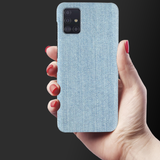 Blue Jeans Cover Case for Samsung Galaxy A51