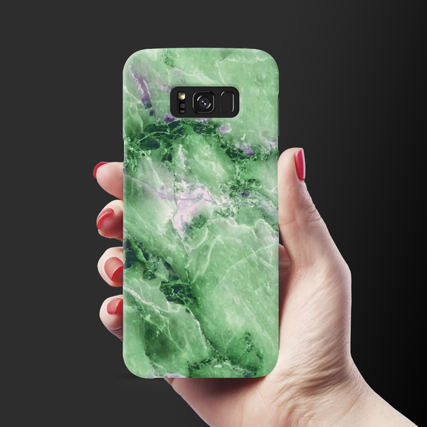 Green Marble Cover Case for Samsung Galaxy S8 Plus