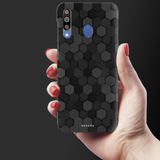 Hexagon Pattern Cover Case for Samsung Galaxy M30