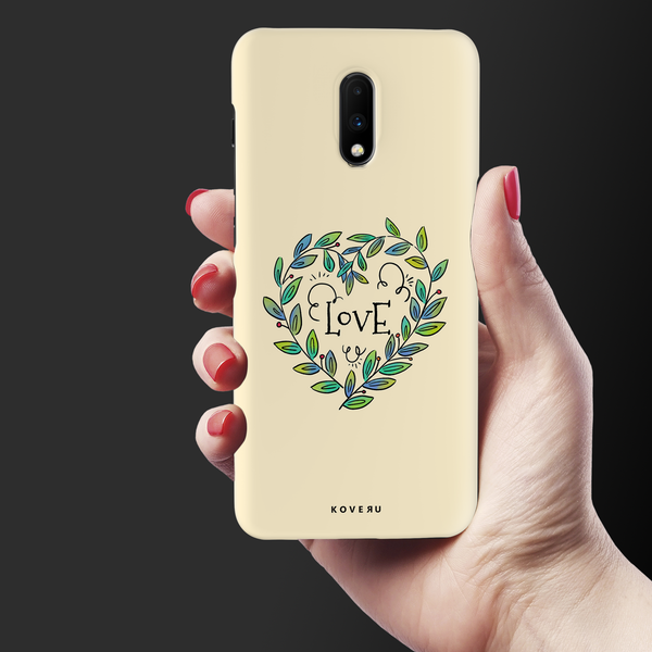 Petals Love Cover Case for OnePlus 7