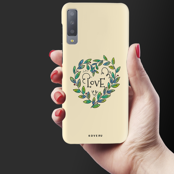 Petals Love Cover Case for Samsung Galaxy A7 2018