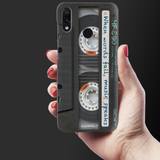 Sony Vintage Cassette Cover Case for Redmi Note 7 Pro
