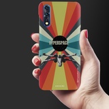 Star Wars: The Retro Hyperspace Cover Case for Vivo Z1X