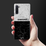 Grey Marble Cover Case for Samsung Galaxy Note 10