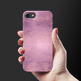 Mauve Marble Texture Cover Case For iPhone 7/8