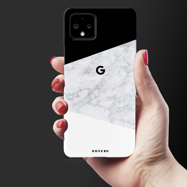White Marble Cover Case for Google Pixel 4