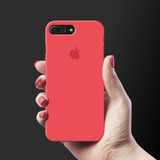 Red Back Cover Case For iPhone 7/8 Plus