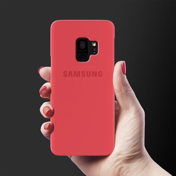 Red Back Cover Case For Samsung  Galaxy S9
