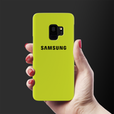 Neon Back Cover Case For Samsung Galaxy S9