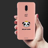 Say Hello to Panda Cover Case For OnePlus 6T