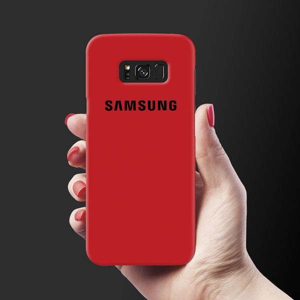 Blood Red Cover Case For Samsung Galaxy S8 Plus