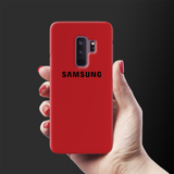 Blood Red Cover Case For Samsung Galaxy S9 Plus
