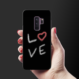 Love all Around Cover Case for Samsung Galaxy S9 Plus