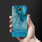 Blue Agate Cover Case for OnePlus 3/3T