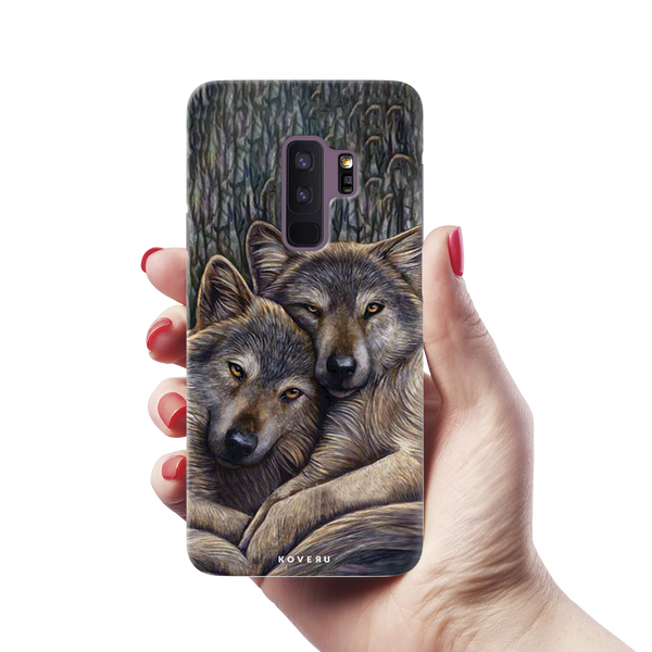 Wolf Cover Case For Samsung Galaxy S9 Plus