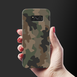 Army Abstract Camouflage Cover Case For Samsung Galaxy S8
