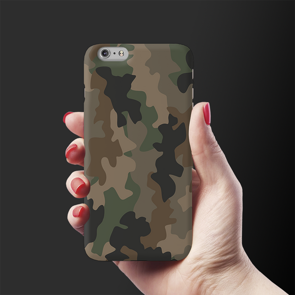 Army Abstract Camouflage Cover Case For iPhone 6/6S Plus