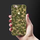 Yellow Camouflage Cover Case For iPhone 6/6S