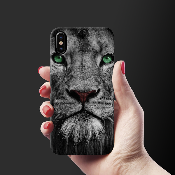 Lion Face Case Cover for iPhone X