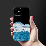 Night Mountains Cover Case for iPhone 11
