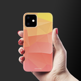 Polygon Pattern Cover Case for iPhone 11