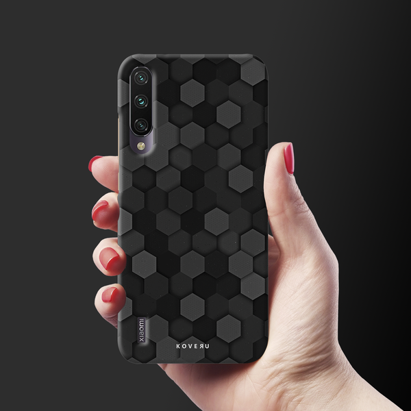 Hexagon Pattern Cover Case for Redmi A3