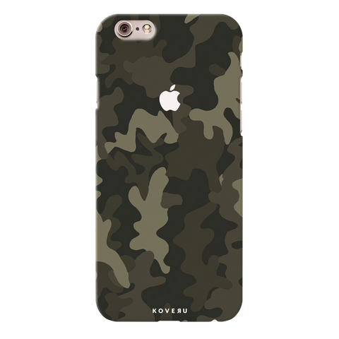 Brown Abstract Camouflage  Cover Case For iPhone 6/6S