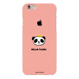 Say Hello to Panda Cover Case For iPhone 6/6S