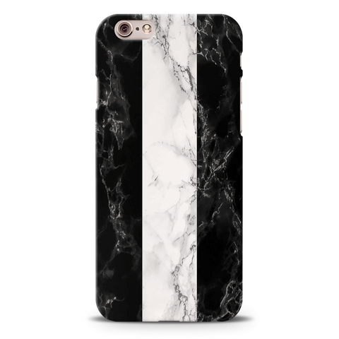 B&W Marble Stripes Cover Case For iPhone 6/6S