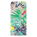 Graphic Floral Case Cover for iPhone 6/6S