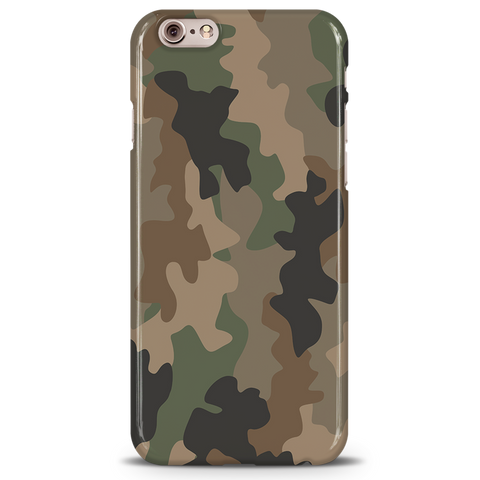Army Abstract Camouflage Cover Case For iPhone 6/6S