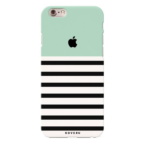 Stripes on Green Cover Case for iPhone 6/6S