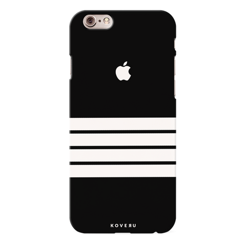 White Stripes Case Back Cover For iPhone 6/6S