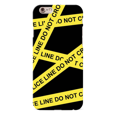 Black Don't Cross Cover Case For iPhone 6/6S