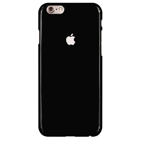 Jet Black Cover Case For iphone 6/6S