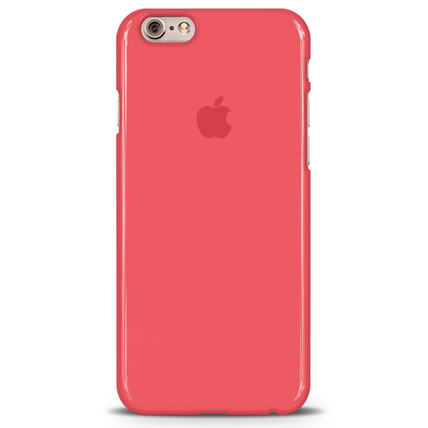 Red Back Cover Case For iPhone 6/6S