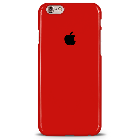 Blood Red Cover Case For iPhone 6/6S