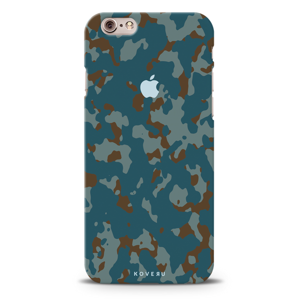 Navy Camouflage Cover Case For iPhone 6/6S