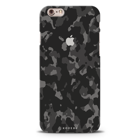 Black Camouflage Cover Case For iPhone 6/6S6/6S