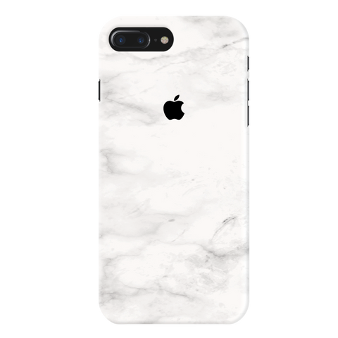 White Cloud Marble Cover Case For iPhone 7/8 Plus