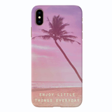 Little Beach Things Cover Case For iPhone XS Max