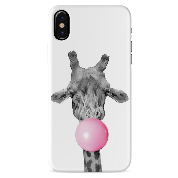 Bubble Giraffe  Cover Case For iPhone XS